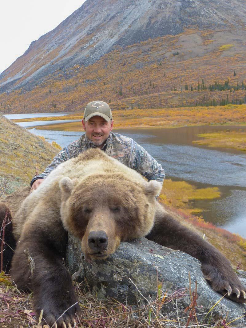 Yukon Grizzly Bear Hunting